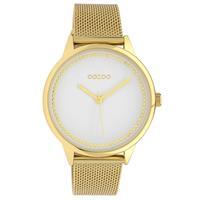 OOZOO C10092 Horloge Timepieces Collection staal goudkleurig 40 mm