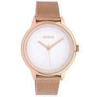 OOZOO C10093 Horloge Timepieces Collection staal goudkleurig 40 mm