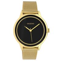 OOZOO C10094 Horloge Timepieces Collection staal rosekleurig 40 mm