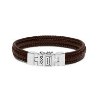 Buddha to Buddha 181BR armband Edwin Small Leather Brown (F) 21 cm