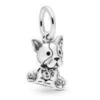Pandora 798008EN16 Bedel zilver Bulldog Puppy