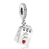 Pandora 797835CZ Hangbedel zilver Love Notes