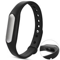 MyXL Originele  Mi Band 1 S Smart Polsband Hart Rat Bluetooth4.0 Miband Armband Passometer Fitness Tracker Voor Android iPhone - zwart