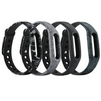 MyXL (XM1HS) Pack van 4D01 Vervanging Band/Vervanging Polsband voor Xiaomi Mi band 1 Smart Fitness Polsband geen tracker