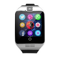 MyXL Bluetooth Q18 Fitness Tracker Smart Horloge Smartwatch Relogio Horloge Camera voor IOS Apple Huawei Android Telefoons PK DZ09 Y1  - Zwa