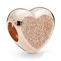 Pandora 787881 Rose Matte Brilliance Heart bedel