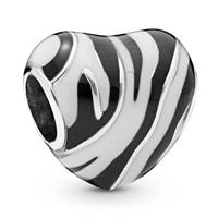 Pandora 798056ENMX Wild stripes in hartvorm