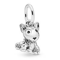 Pandora 798010EN16 Hangbedel zilver Bull Terrier Puppy