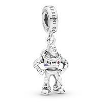 Pandora 798042CZR Hangbedel zilver Disney Buzz Lightyear