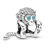 Pandora 798054CZ Bedel zilver Sparkling Monkey