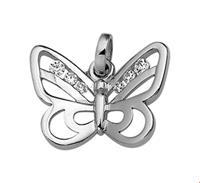 TFT Bedel Vlinder Zirkonia Zilver