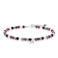 Rebel & Rose Anklet 4 mm Pink Fantasy XS