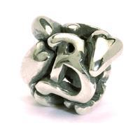 Trollbeads bedel zilver letter B TAGBE-10061