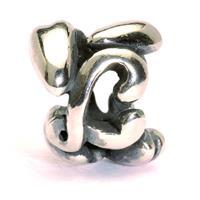 Trollbeads TAGBE-10071 Bedel zilver letter L