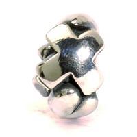 Trollbeads bedel zilver letter X TAGBE-10083