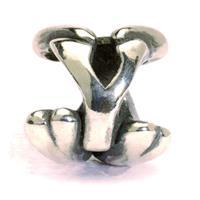 Trollbeads bedel zilver letter Y TAGBE-10084