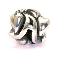 Trollbeads bedel zilver Letter A TAGBE-10060