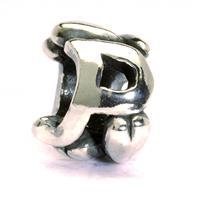 Trollbeads TAGBE-10075 bedel zilver letter P
