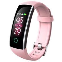 Waterbestendig Bluetooth 5.0 Activity Tracker C20 - Roze