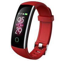 Waterbestendig Bluetooth 5.0 Activity Tracker C20 - Rood