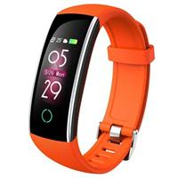 Waterbestendig Bluetooth 5.0 Activity Tracker C20 - Oranje