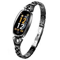 H8 Women's Bluetooth Activity Tracker - Zwart