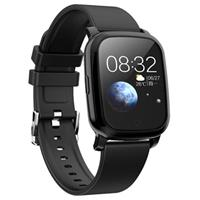 Waterbestendig Bluetooth Sports Smartwatch CV06 - Silicone - Zwart