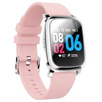 Waterbestendig Bluetooth Sports Smartwatch CV06 - Silicone - Roze