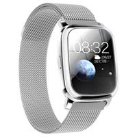 Waterbestendig Bluetooth Sports Smartwatch CV06 - Milanees - Zilver