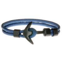 lgtjwls LGT Jewels Anker armband Zwart Blauw