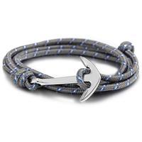 lgtjwls Anker armband Zilver met polyester koord