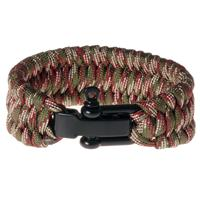 lgtjwls LGT Jewels Paracord armband Green Red
