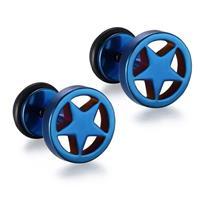 mendes Star Stud oorbellen Blue