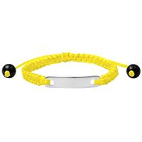 lookinggoodtoday Kinderarmband ID Yellow