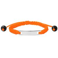 lookinggoodtoday Kinderarmband ID Orange