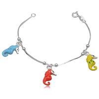 lookinggoodtoday Kinder armband Sea Horse
