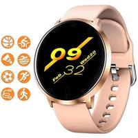 Waterbestendig Smartwatch met Hartslagmeting K12 - Rose Gold