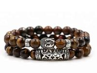 Lucifer's Luxury unisex armband Brown Buddha