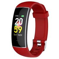 Waterbestendig Bluetooth Fitness Activity Tracker KH20 - Rood