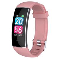 Waterbestendig Bluetooth Fitness Activity Tracker KH20 - Roze