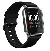 Haylou LS02 Waterbestendig Smartwatch met Hartslagmeting - Zwart