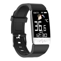 Ksix Fitness Band Activity Tracker met Thermometer & HR - Zwart