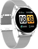 Parya Smart Watch PP69 - Stainless Steel - Zilver