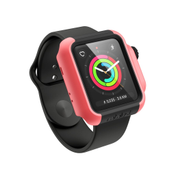 Catalyst CAT-CAT42DROP3COR smartwatch-accessoire Opbergtas Zwart, Koraal Rubber