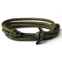 lgtjwls Anker armband Army polyester koord
