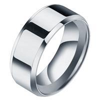 lgtjwls Heren ring Titanium Zilverkleurig 8mm-20mm