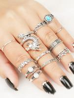 Zaful Metal Rings Set