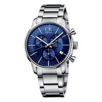 Calvin Klein City Chronograph Horloge K2G2714N - Zilver