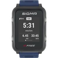 Sigma - ID.Free - Multifunctioneel horloge blauw