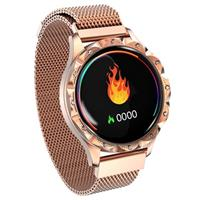 Waterbestendig Bluetooth Smartwatch voor Dames D18 - Goud